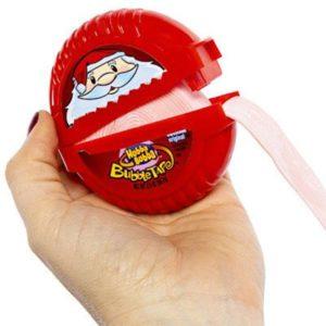 Kẹo gum kéo Hubba Bubba Christmas Bubble Tape Gum 56.7g màu đỏ