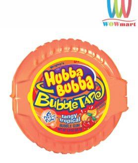 Kẹo gum kéo Hubba Bubba Tangy Tropical 56.7g vị trái cây màu cam