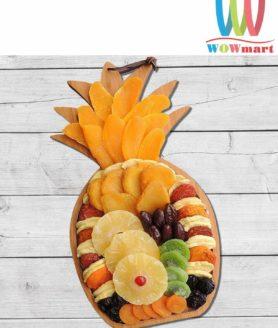 Khay trái cây sấy Vacaville Fruit hình trái thơm