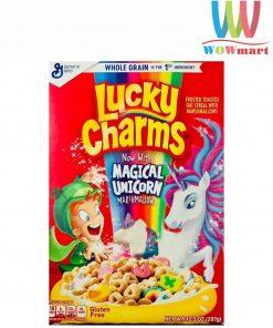 Ngũ cốc Lucky Charms Magical Unicorn Marshmallows 297g