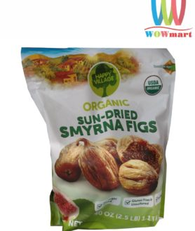 Quả sung sấy khô Happy Village Organic Sun-Dried Smyrna Figs 1.13kg