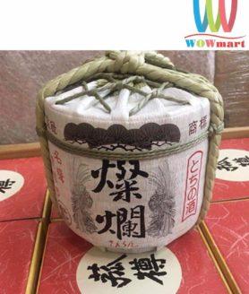 Rượu Sake bình cói Tamura Nhật Bản 1800ml