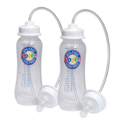 Set 2 bình sữa rảnh tay Podee