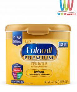 Sữa Enfamil cho bé 0-12 tháng tuổi Enfamil Premium Non-GMO Infant Formula 629g
