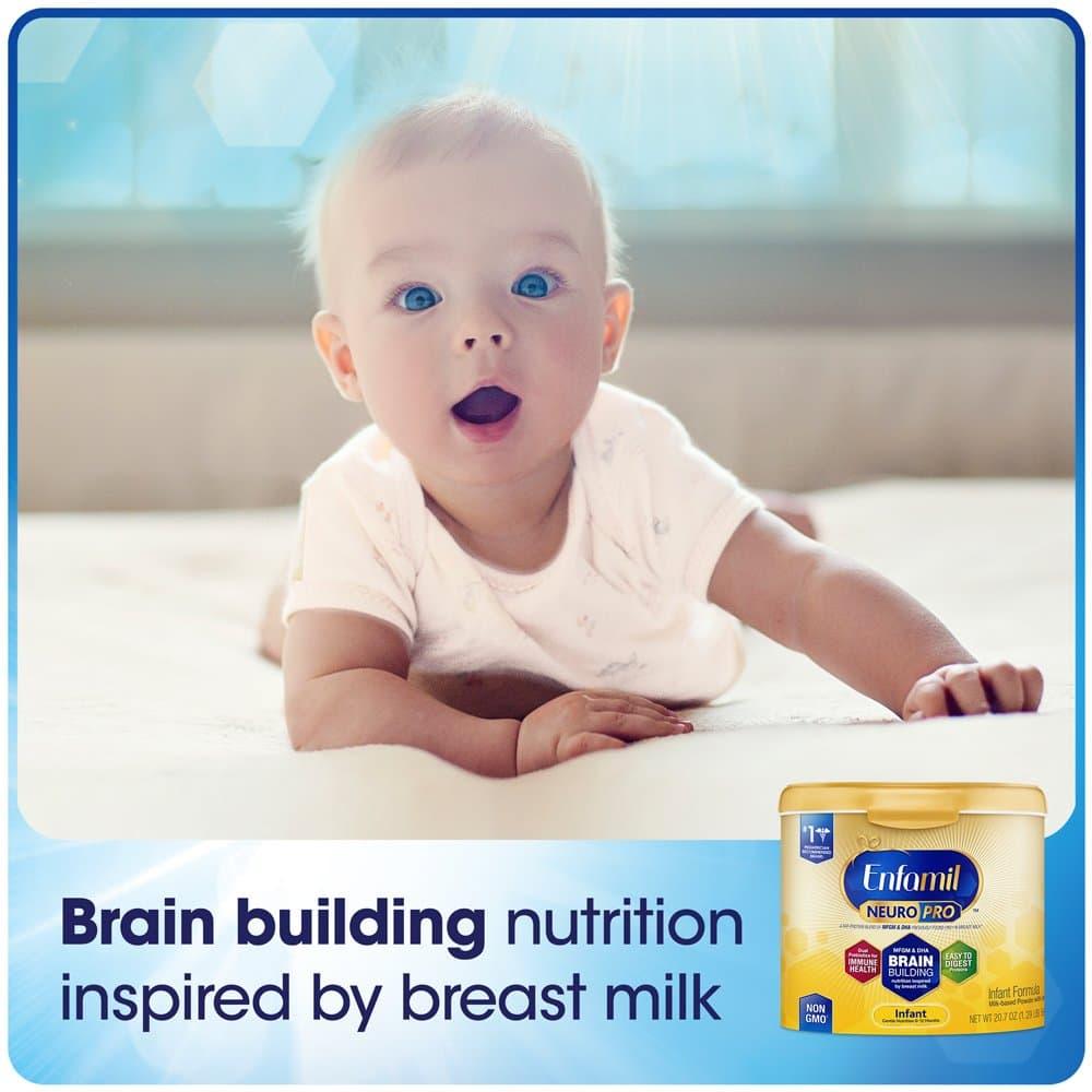 Sữa Enfamil cho bé 0-12 tháng tuổi Enfamil Neuro Pro 587g