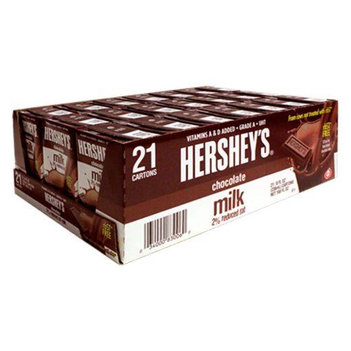 Sữa socola Hershey's Chocolate Milk 236ml thùng 21 hộp