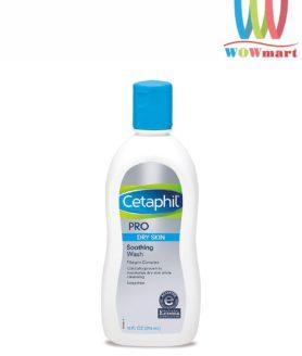 Sữa tắm dành cho da khô Cetaphil Pro Soothing Wash 296ml