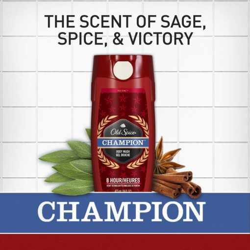 Sữa tắm nam Old Spice Champion Body Wash 473ml