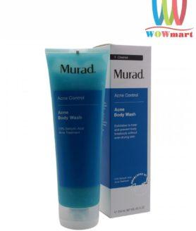 Sữa tắm trị mụn tẩy da chết toàn thân Murad Acne Body Wash 250ml