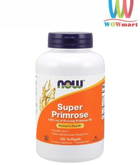 Tinh dầu hoa anh thảo Now Super Primrose 1300mg 120 viên