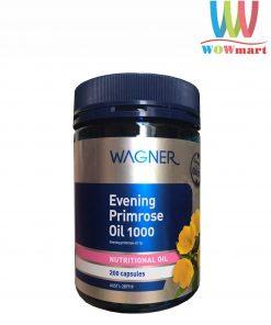 Tinh dầu hoa anh thảo Wagner Evening Primrose Oil 1000mg 200 viên