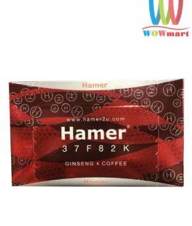 Kẹo sâm Hamer Ginseng & Coffee tăng cường sinh lý nam giới hộp 30 viên mẫu mới