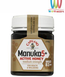 Mật ong Capilano Manuka 5+ 250g