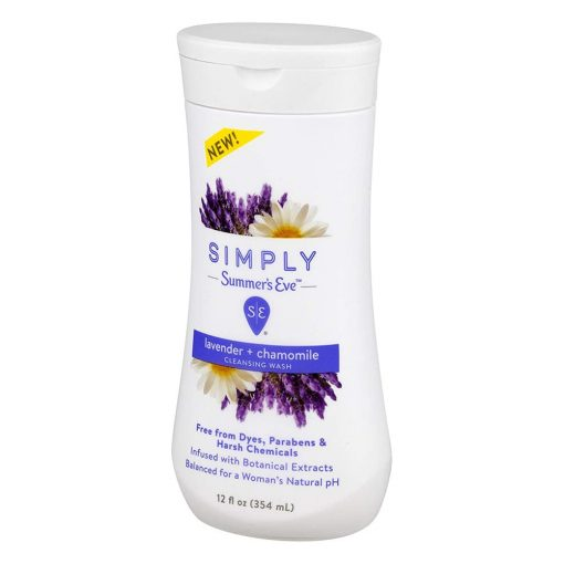 Nước rửa phụ khoa Simply Summer's Eve Lavender Chamomile Cleansing Wash 354ml