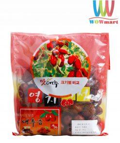 Táo đỏ sấy khô Hàn Quốc Gói 500g