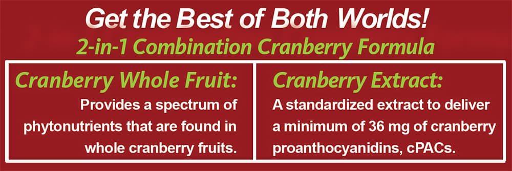 Viên uống hỗ trợ đường tiết niệu Trunature Cranberry 650mg 140 viên