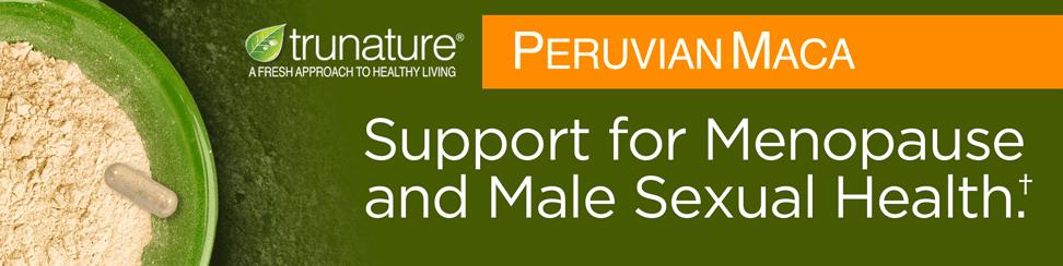 Viên uống tăng cường sức khỏe sinh lý nam nữ Trunature Peruvian Maca 750mg 180 viên