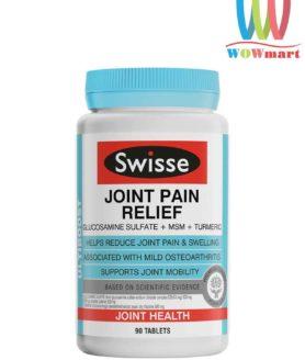 Tang cuong van dong giam dau khop Swisse Joint Pain Relief 90 vien