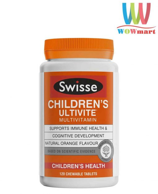 Vitamin-cho-tre-em-Swisse-Childrens-Ultivite-Multivitamin-120-Chewable-Tablets