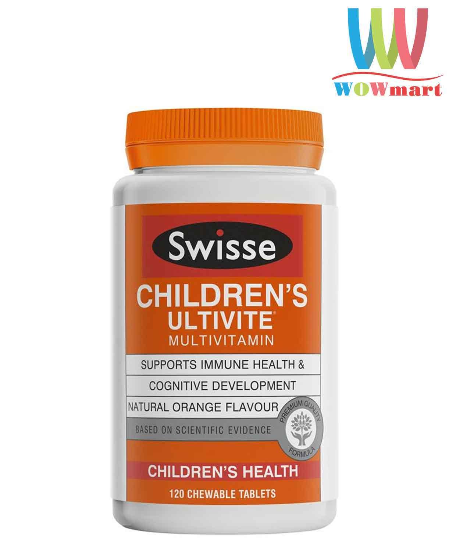 Vitamin-cho-tre-em-Swisse-Childrens-Ultivite-Multivitamin-120-Chewable-Tablets
