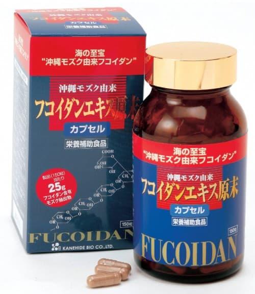 Viên tảo chống ung thư Nhật Bản Kanehide Okinawa Fucoidan 150viên