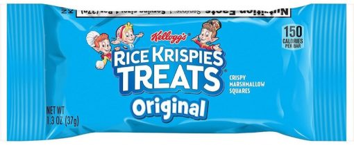 Banh gao Kelloggs Rice Krispies Treats 25 goi x 37g 925g 1