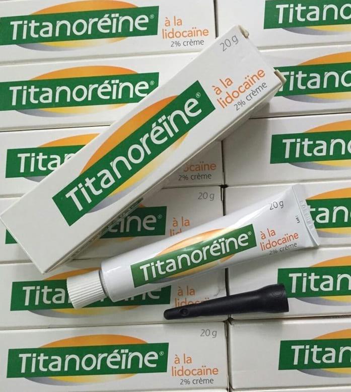 Kem Bôi Trị Trĩ Ngoại Titanoreine Tuýp 20g