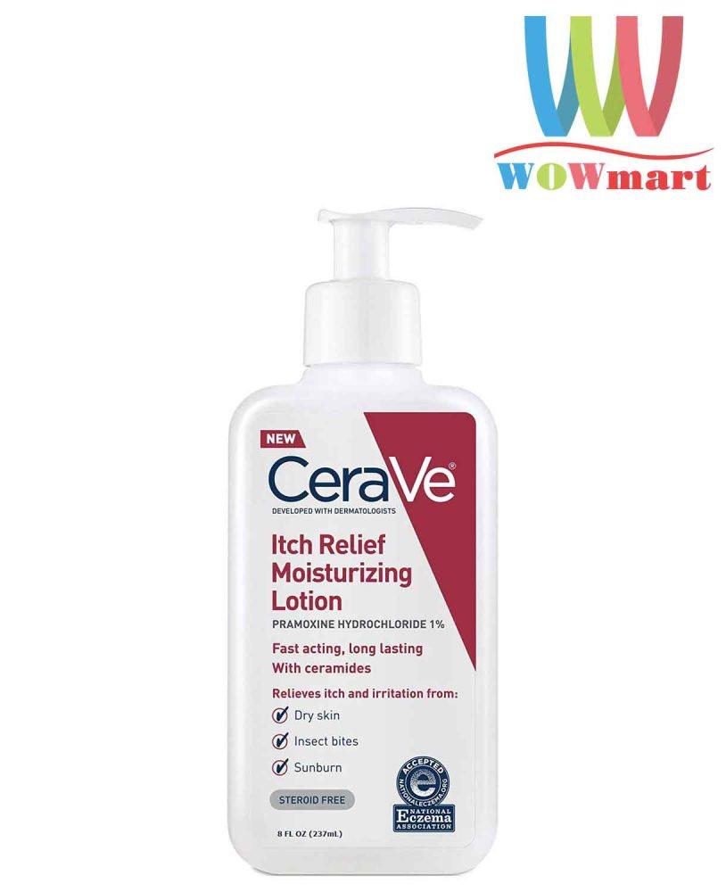 Kem dưỡng ẩm CeraVe Itch Relief Moisturizing Lotion 237ml