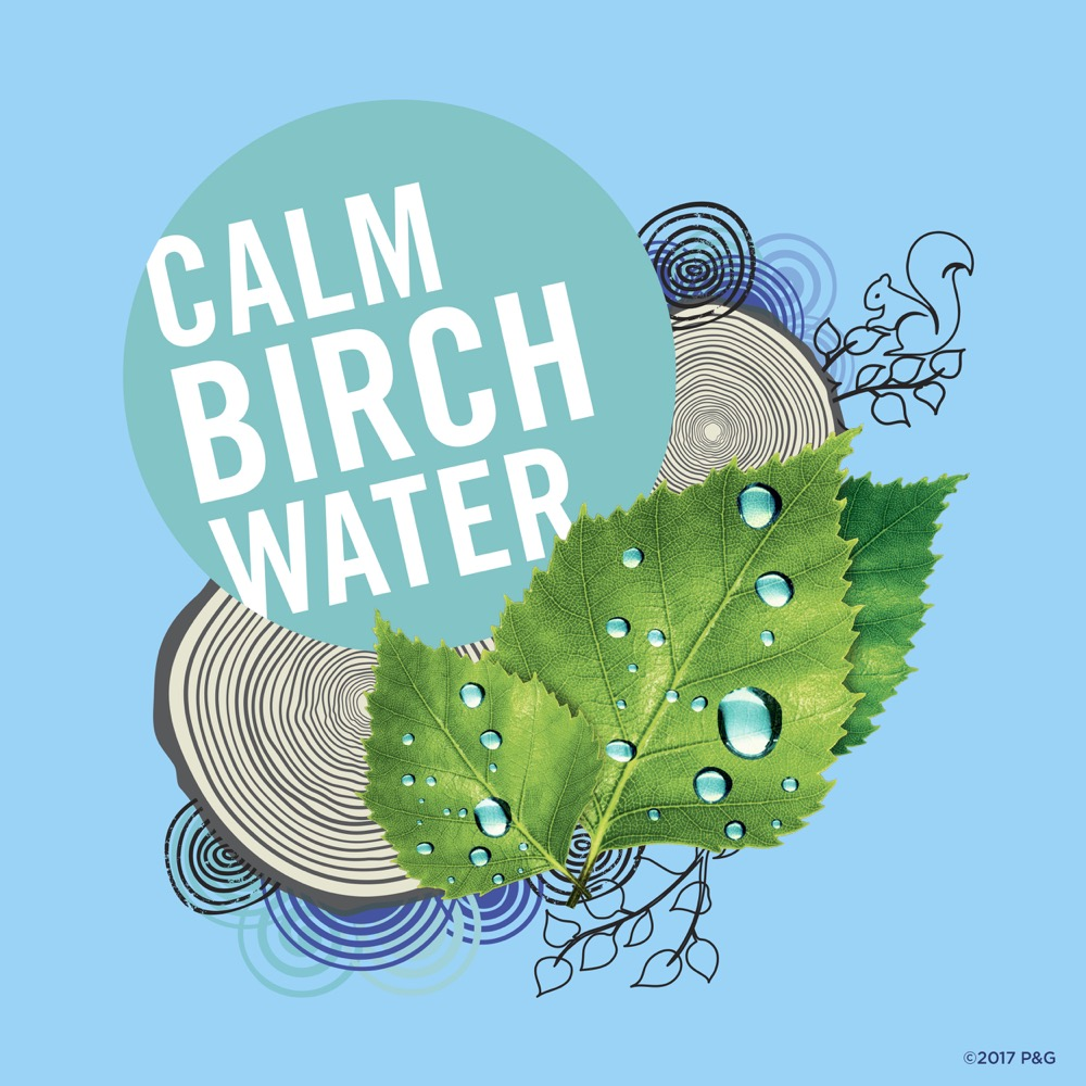 Lăn khử mùi Secret Calm Birch Water Clear Gel 73g