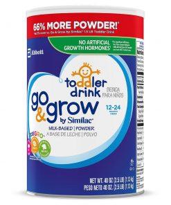 Sua bot cho be tu 12 24 Similac Go Grow Milk Based Powder Toddler Drink 1kg133g 1