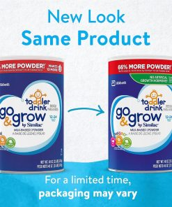 Sua bot cho be tu 12 24 Similac Go Grow Milk Based Powder Toddler Drink 1kg133g 2