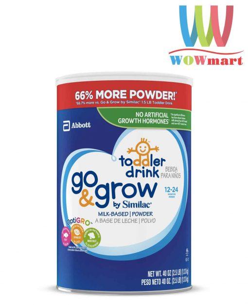 Sua bot cho be tu 12 24 Similac Go Grow Milk Based Powder Toddler Drink 1kg133g