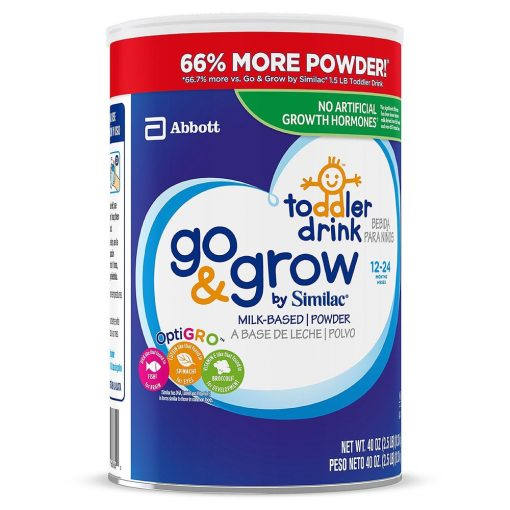 Sua bot cho be tu 12 24 Similac Go Grow Milk Based Powder Toddler Drink 1kg133g 6