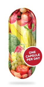 Viên uống trái cây và rau củ Feel Good USDA Organic Vita Fruits & Veggies, 120 viên