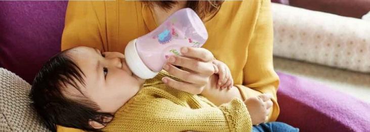 Bình sữa màu hồng Philips Avent Natural Baby Bottle Deco Pink 226ml