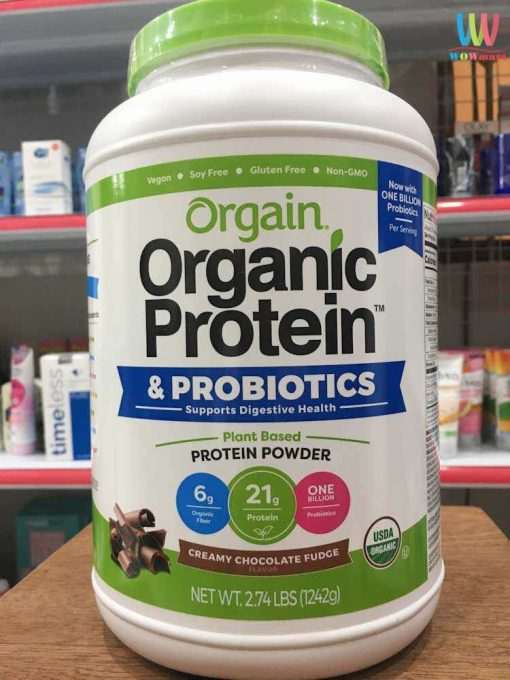bot protein huu co orgain organic protein amp superfoods 1242g vi socola 1187