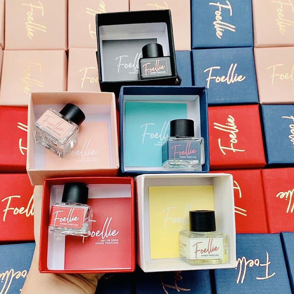 "Nước hoa ""cô bé"" Foellie Eau de Innerb Perfume -Bijou 5ml"