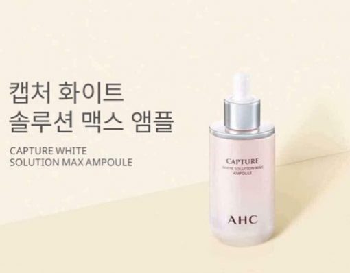 tinh chat ahc capture white solution max ampoule 50ml2