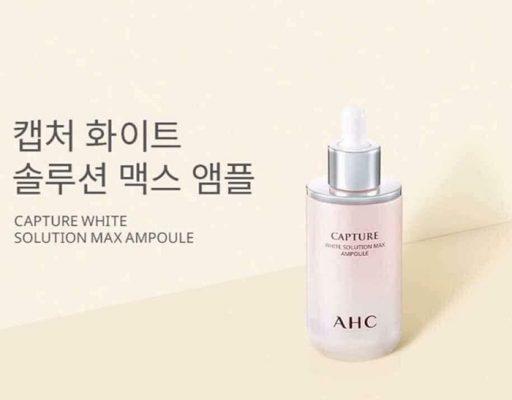 Tinh chất làm da trắng hồng AHC Capture White Solution Max Ampoule 50ml