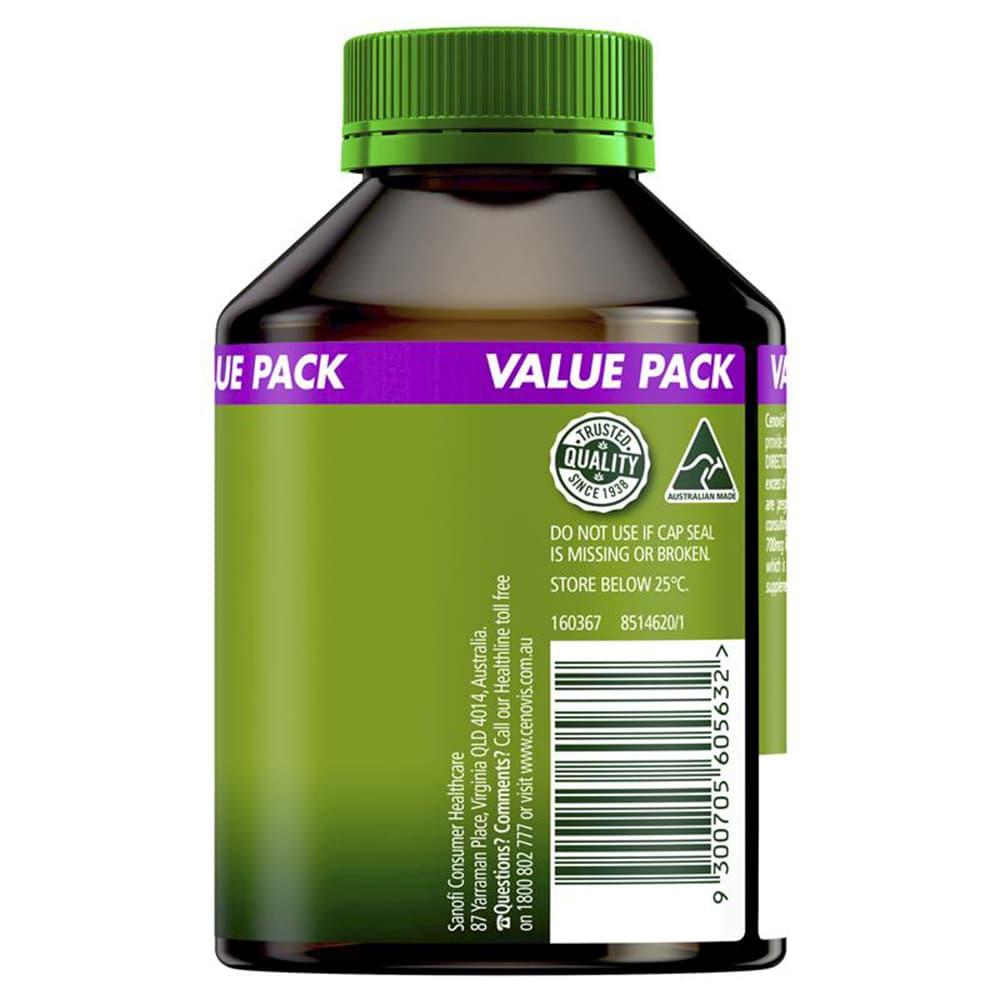 Viên uống đa Vitamin+ khoáng chất Cenovis Once Daily 50+ Multi 100 viên