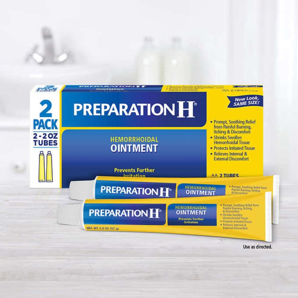 Kem trị trĩ Preparation H Ointment 114g x 2 tuýp