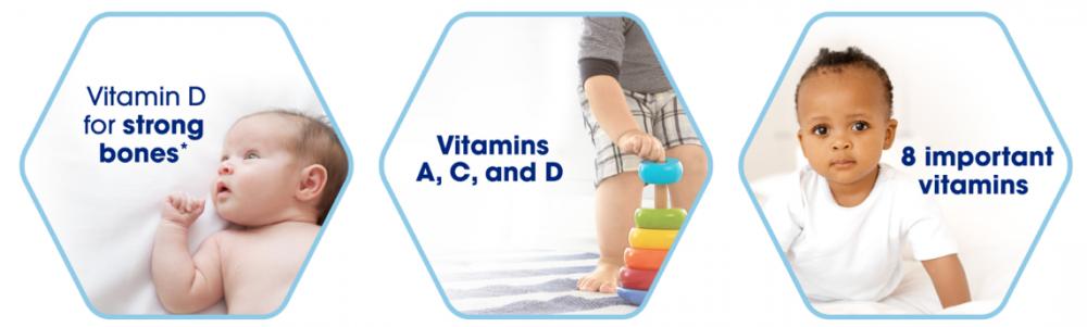 Siro Enfamil bổ sung Vitamin D cho trẻ D Vi Sol 50ml (Vàng)