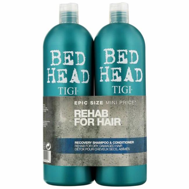 Dầu gội xã TiGi BED HEAD phụ hồi sinh lực 2 Urban Antidotes 750ml x2