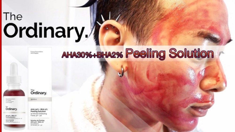 Dung dịch The Ordinary tẩy tế bào chết AHA 30% + BHA 2% Peeling Solution 30ml
