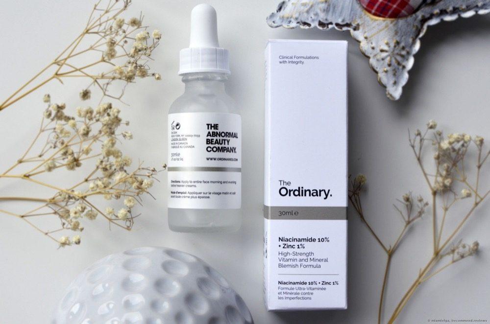Serum The Ordinary làm giảm mụn kích ứng Niacinamide 10%+Zinc 1% 30ml