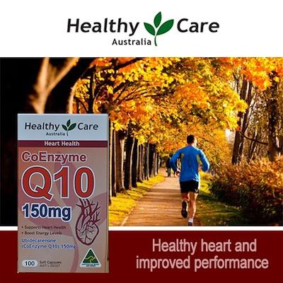 Viên uống trợ tim Healthy Care CoQ10 150mg 100 viên