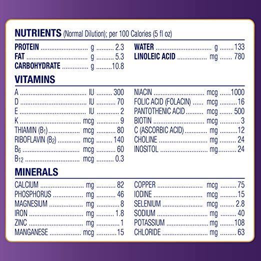 Sữa dành cho bé từ 0 – 12 tháng chống đầy hơi nôn trớ Enfamil Enspire Gentlease Non-GMO 567g