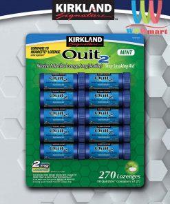 Keo-don-cai-thuoc-la-Kirkland-Signature-4-Quit-Gum-Lozenges-Mint-27-vien-x10-ong