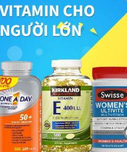 Vitamin cho người lớn
