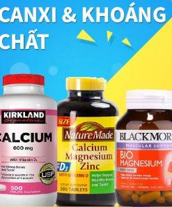Calcium & Khoáng chất